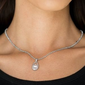 Traditionally Traditional - White Pearl Necklace